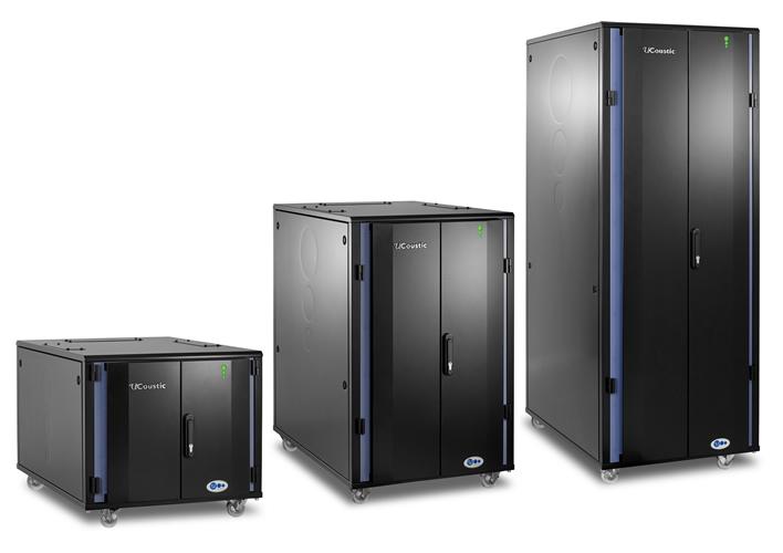 Ucoustic server racks